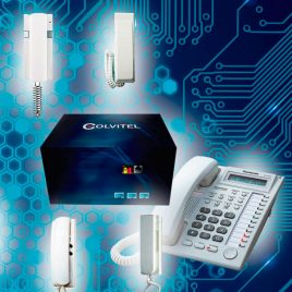 Consola Digital Citofonia Colvitel